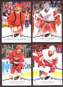 2018-19 Upper Deck Hockey (Base) Team Set - Detroit Red Wings
