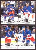 2018-19 Upper Deck Hockey (Base) Team Set - New York Rangers