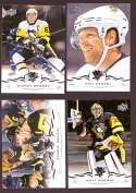2018-19 Upper Deck Hockey (Base) Team Set - Pittsburgh Penguins