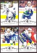 2018-19 Upper Deck Hockey (Base) Team Set - Vancouver Canucks