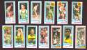 1980-81 Topps (Separated) Basketball Team Set - Seattle Supersonics