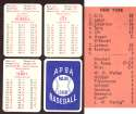 1930 APBA Season - NEW YORK GIANTS Team Set