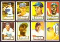 1952 TOPPS Reprints Some Off Centered see pic - BROOKLYN DODGERS Team Set