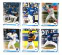 2019 Topps Pro Debut - Los Angeles Dodgers - 6 Card Team Set