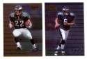 1999 Bowman's Best Football - PHILADELPHIA EAGLES