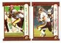 1999 Bowman Football - WASHINGTON REDSKINS Team Set