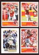 2019 Score Football Team Set - Kansas City Chiefs