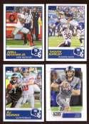 2019 Score Football Team Set - New York Giants