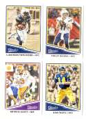 2017 Classics (Panini 1-300) Football Team Set - LOS ANGELES CHARGERS