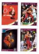2018-19 Donruss Optic Basketball Team Set - Cleveland Cavaliers