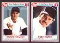 1990 Post - BOSTON RED SOX Team Set