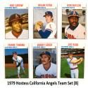 1979 Hostess - CALIFORNIA ANGELS Team Set (B)