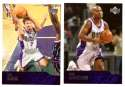 2003-04 Upper Deck Basketball (Base 1-300) Team Set - Milwaukee Bucks