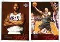 2003-04 Upper Deck Basketball (Base 1-300) Team Set - New Jersey Nets