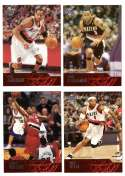 2003-04 Upper Deck Basketball (Base 1-300) Team Set - Portland Trail Blazers