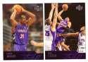 2003-04 Upper Deck Basketball (Base 1-300) Team Set - Toronto Raptors