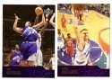 2003-04 Upper Deck Basketball (Base 1-300) Team Set - Utah Jazz