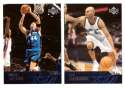 2003-04 Upper Deck Basketball (Base 1-300) Team Set - Washington Wizards