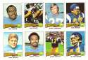 1975 Topps Football Team Set (B) (EX Condition) - SAN DIEGO CHARGERS w/ Dan Fouts RC