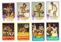 1973-74 Topps Basketball Team Set - New York Knicks