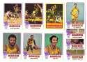 1973-74 Topps Basketball Team Set - Seattle Supersonics