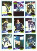 1980-81 Topps Hockey Team Set - St. Louis Blues