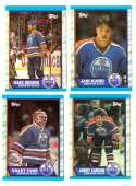 1989-90 Topps Hockey Team Set - Edmonton Oilers