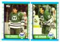 1989-90 Topps Hockey Team Set - Hartford Whalers