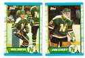 1989-90 Topps Hockey Team Set - Minnesota North Stars
