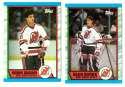 1989-90 Topps Hockey Team Set - New Jersey Devils