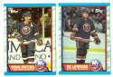 1989-90 Topps Hockey Team Set - New York Islanders