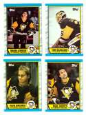 1989-90 Topps Hockey Team Set - Pittsburgh Penguins