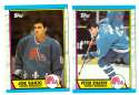 1989-90 Topps Hockey Team Set - Quebec Nordiques