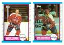 1989-90 Topps Hockey Team Set - Washington Capitals