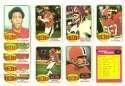 1976 Topps Football Team Set (EX C) - ATLANTA FALCONS