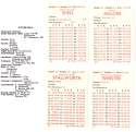 1984 APBA Season (32 Cards) Football Team Set - PITTSBURGH STEELERS