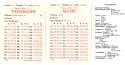 1984 APBA Season (32 Cards) Football Team Set - WASHINGTON REDSKINS