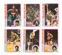 1978-79 Topps Basketball Team Set - Milwaukee Bucks