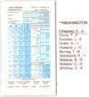 1997-98 Strat-O-Matic SOM NBA Basketball - Washington Wizards Team Set